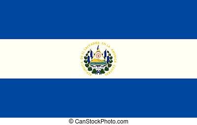 National Flag El salvador - Detailed Illustration National...