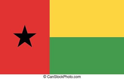 National Flag Guinea-Bissau - Detailed Illustration National...