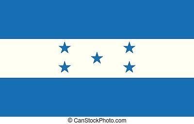 National Flag Honduras - Detailed Illustration National Flag...