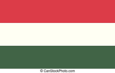 National Flag Hungary - Detailed Illustration National Flag...