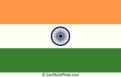 National Flag India - Detailed Illustration National Flag...