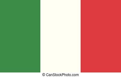 National Flag Italia - Detailed Illustration National Flag...