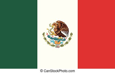 National Flag Mexico - Detailed Illustration National Flag...