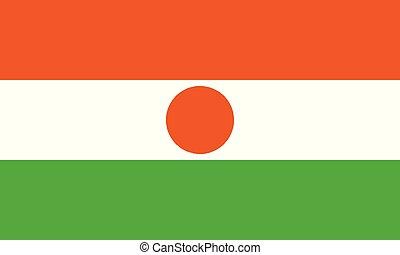 National Flag Niger - Detailed Illustration National Flag...