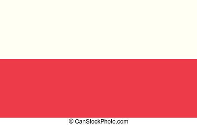 National Flag Poland - Detailed Illustration National Flag...