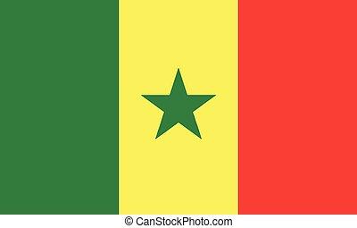 National Flag Senegal - Detailed Illustration National Flag...