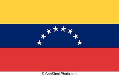 National Flag Venezuela - Detailed Illustration National...