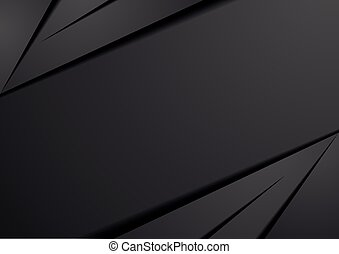 detailed illustration of an abstract dark background, eps10 vector