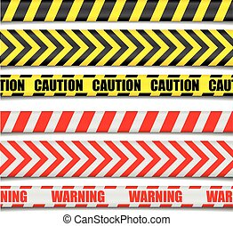 Caution Lines - detailed illustration of Caution Lines, ...
