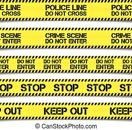 Police Caution Tapes
