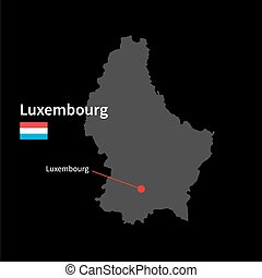 Benelux Flag Map Benelux Flag Vector Illustration Search - Luxembourg map vector