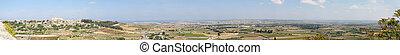 Detailed Panorama of Malt