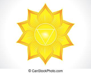 detailed solar plexus chakra
