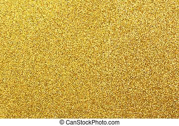 glittering golden - Detailed texture of glittering golden...