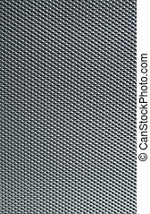 Detailed texture of metal surface. Abstract grey background. Shallow DOF