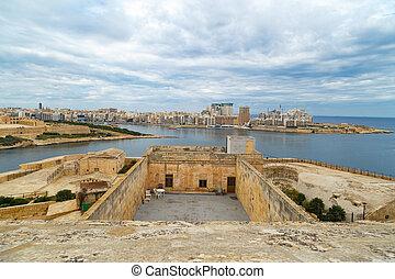 Detailed Valletta View
