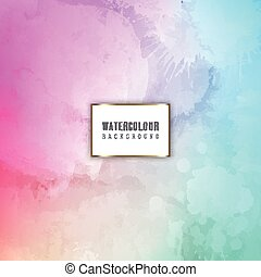 detailed watercolour background 2908 - Colourful background...
