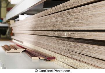 Details carpenter for furniture