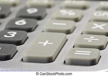 details of a desk-top calculator 01