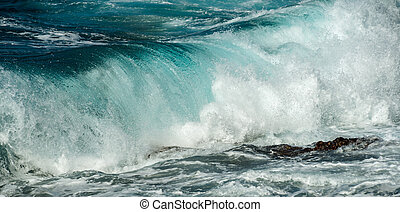 big waves big island hawaii
