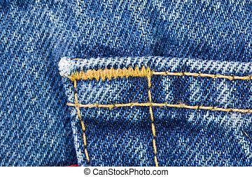 Details of Blue Jeans