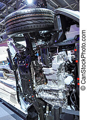 details of bottom car