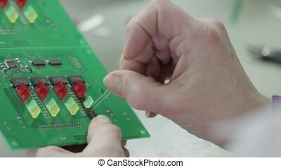 Details of Electronic Chips and Soldering - Manufacturing...