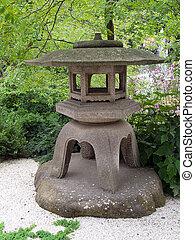 Details of Japanese garden
