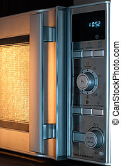 microwave oven - details of modern microwave oven in the...