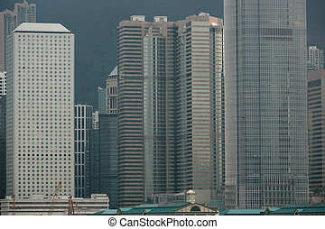 details of office buildings in Hong Kong