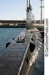 Details of old war submarine S61