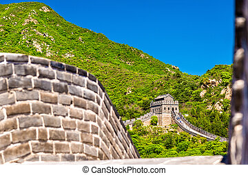 Details of the Great Wall at Badaling