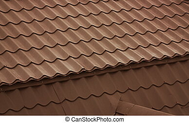 Details of the house roof