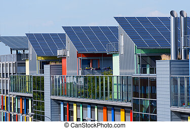 Details of the sunship in Freiburg - Details of the Sunship...