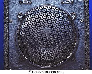 Details of Woofer Loudspeaker