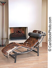 Details with lounge chair - Home details of rest corner of...