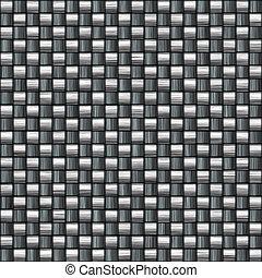 detalhado, carbono, fibra