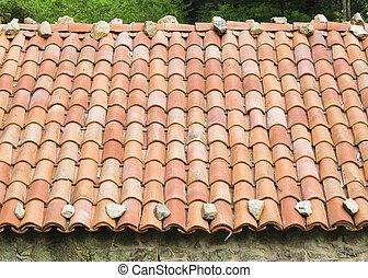 detalhe arquitetônico, telhado