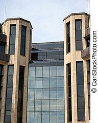 detalhe edifício, escritório