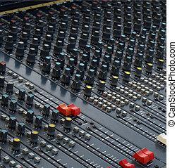 detalhe, soundboard