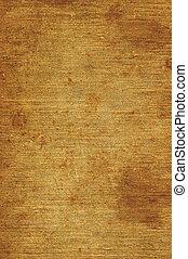 detaljerad, gammal, rostig, grov, åldrig, närbild, struktur, kanfas, säckväv, tyg, utrymme, årgång, fläckat, rustik, grungy, beige, brun, grunge, vertikal, bakgrund, strukturerad, avskrift, naturlig, makro, specificera, linne, smutsa ner, mönster, rosta