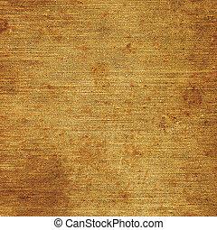 detaljerad, gammal, rostig, grov, åldrig, närbild, struktur, kanfas, säckväv, tyg, utrymme, årgång, fläckat, rustik, grungy, beige, brun, grunge, bakgrund, strukturerad, avskrift, naturlig, makro, specificera, linne, smutsa ner, mönster, rosta