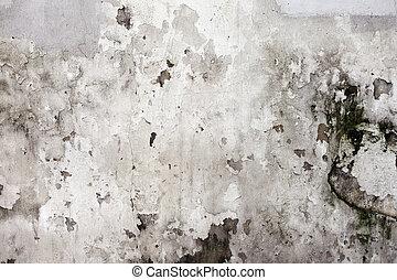 detaljerad, sten, fragment, hög, vägg, bakgrund