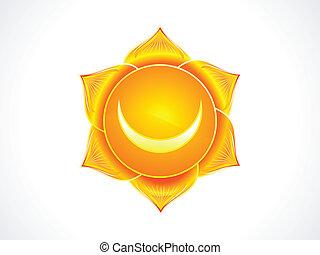 detallado, chakra, sacral