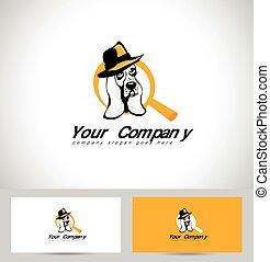 Detective Dog Logo
