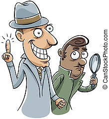 Detective Inspiration - A detective has a moment of...