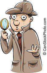 Detective Investigating