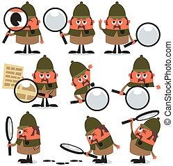 detective, troep