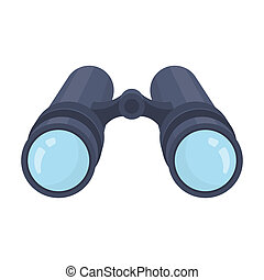 detective.detective, stile, illustration., simbolo, busta, singolo, lettera, inside.a, rater, icona, cartone animato, casato