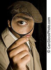 detektiv, holmes, sherlock